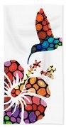 Perfect Harmony - Nature's Sharing Art Hand Towel