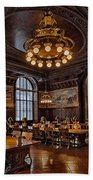 Periodicals Room New York Public Library Hand Towel