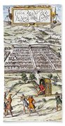 Peru: Cuzco, 1572 Bath Towel