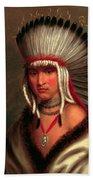 Petalesharro. Generous Chief  Pawnee Bath Towel