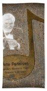 Pete Pedersen Note Hand Towel