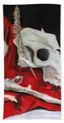 Pete The Skull Hand Towel