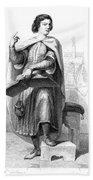Peter Abelard (1079-1142) Bath Towel