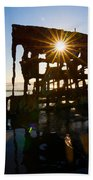 Peter Iredale Shipwreck, Fort Stevens Bath Towel