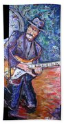 Peter Parcek Plays The Blues Hand Towel