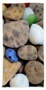Petoskey Stones V Bath Towel