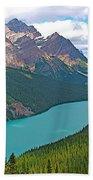Peyto Lake Along Icefield Parkway In Alberta-canada Bath Towel