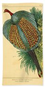 Pheasant 1837 Bath Towel