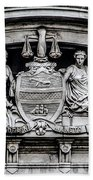 Philadelphia City Hall - City Seal  Bath Towel