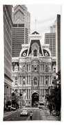 Philadelphia City Hall Bath Towel