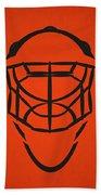 Philadelphia Flyers Goalie Mask Bath Towel