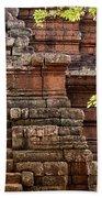 Phimeanakas Temple Steps Bath Towel