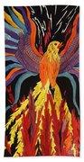 Phoenix Rising Bath Towel
