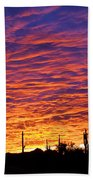 Phoenix Sunrise Bath Towel