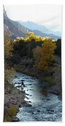 Photographing Zion National Park Bath Towel