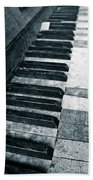 Piano Keys Bath Towel