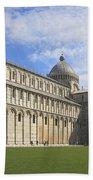 Piazza Del Duomo Pisa Italy  Bath Towel