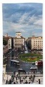 Piazza Venezia Bath Towel by John Wadleigh