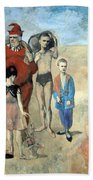 Picasso's Family Of Saltimbanques Bath Towel