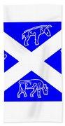 Pictish Scotland Flag 2 Hand Towel