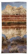 Picturesque Blue Canyon Formations Bath Towel