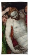 Pieta And Angels Bath Towel
