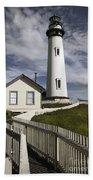 Pigeon Point Lighthouse II Bath Towel