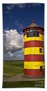 Pilsum Lighthouse Bath Towel