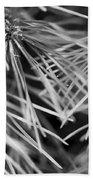 Pine Needle Abstract Bath Towel