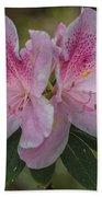 Pink Azalea Bath Towel
