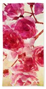 Pink Blossom - Watercolor Edition Bath Towel