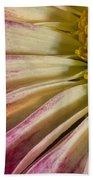 Pink Flower Macro Bath Towel