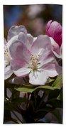 Pink Flowering Crabapple - Malus Bath Towel