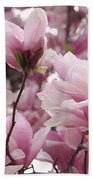 Pink Magnolia Blossoms Washington Dc Bath Towel