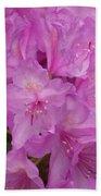 Pink Rhododendron Bath Towel
