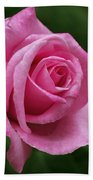 Pink Rose Perfection Bath Towel