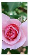 Pink Rose - Square Print Bath Towel
