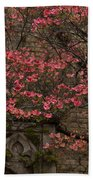Pink Spring - Dogwood Filigree And Lace Hand Towel