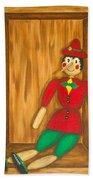 Pinocchio Bath Towel