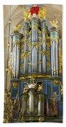 Pipe Organ In Breda Grote Kerk Bath Towel