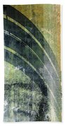 Piped Abstract Bath Towel