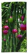 Pitaya Fruit Trees Bath Towel