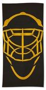 Pittsburgh Penguins Goalie Mask Bath Towel