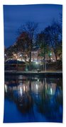 Pittsford On The Erie Canal Bath Towel