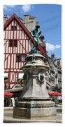 Place Francois Rude - Dijon Bath Towel