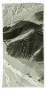 Plains Of Nazca - The Astronaut Bath Towel