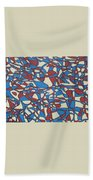 Planet Abstract Bath Towel