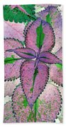 Plant Pattern - Photopower 1212 Bath Towel