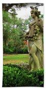Plantation Garden New Orleans  Bath Towel