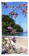 Playa Espadillia Sur Manuel Antonio National Park Costa Rica Bath Towel